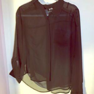See thru blouse